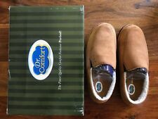 Dr. Comfort Men's Relax Therapeutic Slippers Size 7 Wide, Camel Color, Diabetic