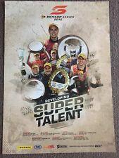 V8 Supercars Dunlop Series Promotional Poster 2016