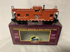 ✅MTH PREMIER GREAT NORTHERN LIGHTED EXTENDED VISION CABOOSE 20-91052! O SCALE