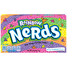 Rainbow Nerds Nestle Formerly Wonka American Candy 5oz 141g Theatre Box X 6