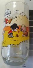 Vintage Official 1971 Peanuts Snoopy Collectors Glass from McDonalds