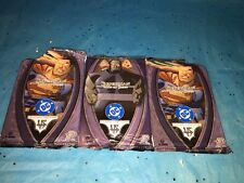 3 Open DC Vs. System CCG Superman Man of Steel 1st Edition Booster Packs