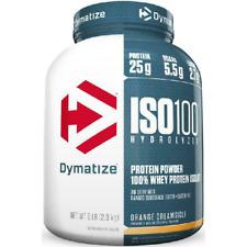 Dymatize ISO 100 Hydrolyzed 100% Whey Protein Isolate Powder, Orange Dreamsicle,