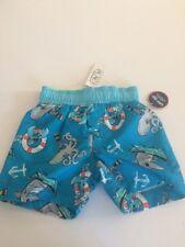 Children's Place BOY'S Shark & Octopus Bathing Suit Size 9-12 Months NWT