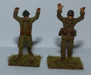 French surenders soldiers 1940 1/72 soldats qui se rendent 1940
