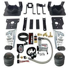 Air Bag Suspension Tow Kit Black On Board Control For 2011-16 Ford F250 F350 2wd