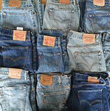 LEVIS Jeans 501, 505, 507, 511, 514, 517, 525, 550, 751 - Various Grades & Sizes