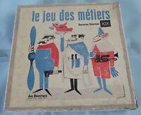 Ancien Jeu des Métiers , de l'Émission Télévisée R.T.F. de 1960