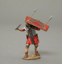 Thomas Gunn Soldiers ROM047A Roman Legionnaire Shield Red Roman Empire 1/30