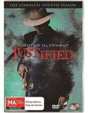 Justified : Season 4 (DVD, 2013, 3-Disc Set)