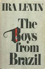 The Boys From Brazil by Ira Levin hardcover dust jacket 1976  book club