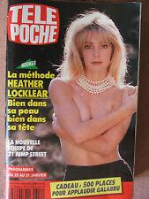 TELE POCHE N°1354 (20 janv 1992) Heather Locklear - Susan Hayward -
