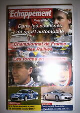 K7 VIDEO VHS ECHAPPEMENT N°4 CHAMPIONNAT DE FRANCE DES RALLYES