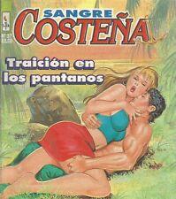 SANGRE COSTEÑA MEXICAN COMIC #57 MEXICO SPANISH SPICY HISTORIETA 1997