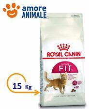 Royal Canin Fit 32 - 15 kg - Crocchette per gatto adulto Cibo per gatti