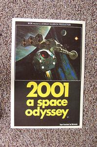 2001 A Space Odyssey Lobby Card Movie Poster #2