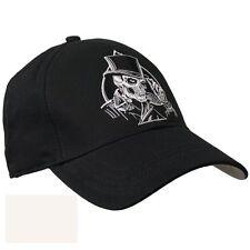 Top Hat Spade cráneo BIKER Moto Bobber Cruiser Bordado Gorra de béisbol