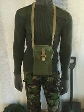 Vintage british gas mask bag army surplus military army mod british army sas