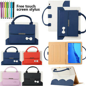 """For iPad 2 3 4 Pro 9.7"""" 2016 / 2017 Smart Case Leather Tablet Handle Stand Cover"""