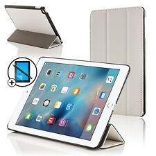 Pelle Bianca Pieghevole Smart Custodia Cover Apple iPad Pro 12.9 Proteggischermo