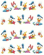 Nail Art Stickers Water Decals Transfers Donald & Daisy Duck (BLE497)