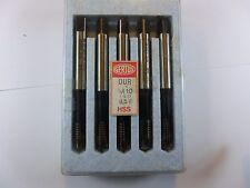 Gewindebohrer M10 ISO 6H,  5 Stück, GERTEX-DUR, HSSG, RHV4816,