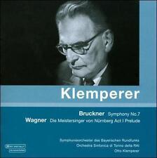 Klemperer conducts Bruckner, Wagner, New Music