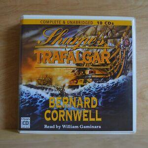 Bernard Cornwell - Sharpe's Trafalgar - Unabridged - Audiobook - 10CDs - Chivers