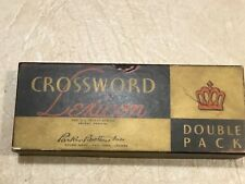 RARE 1938 CROSSWORD LEXICON Regular & Solitaires mint condition NEW OLD STOCK