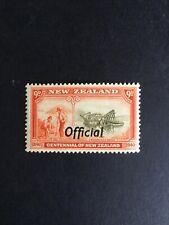 "NEW ZEALAND.1940 CENTENNNIAL GOLD  ""OFFICIAL""  ISSUE PRE-DECIMAL -:- NICE M.U.H."