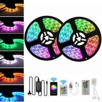 5-30M LED Stripe RGB Leiste Streifen 5050 Band Wasserdicht Lichterkette 12V