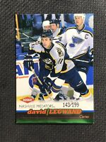 1999-00 PACIFIC DAVID LEGWAND ROOKIE EMERALD GREEN #ed 143/199