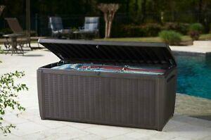 Keter Sumatra Chocolate Outdoor Storage Box