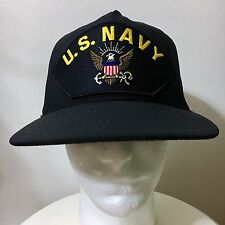 US NAVY SNAPBACK EAGLE MILITARY PATRIOTIC SKATER HAT DIAMOND SUPREME 10 DEEP CAP