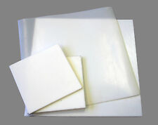 "12 mm PTFE sheet 200 mm high temperature-low friction 3.93/"" x 100 mm 7.87/"""
