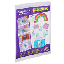 Shrinky Dinks 0SD300-10A Crystal Clear 10 Sheet Creative Pack