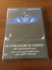 EL CORTADOR DE CESPED - 1 DVD - 1992 - STEPHEN KING - NEW SEALED - 100 MIN NUEVO