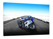 Suzuki GSXR-1000 - 30x20 Inch Canvas Art - Framed Picture Poster Print