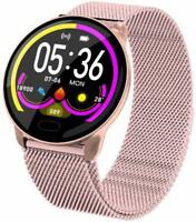 Smartwatch K9S Damen Bluetooth Pulsuhr Herzmessung Wasserdicht IPS Display Sport