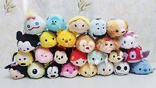 170 Disney TSUM Eeyore Mickey Winnie Stitch Mini Plush Soft Toy Doll With Chain