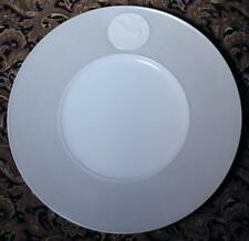 "KPM Arkadia Gray 11 3/4"" Gourmet Charger Plate White Medallion Pegasus & Hero"
