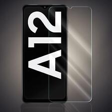 Panzer Folie für Samsung Galaxy A12 Echt Glas Displayschutzfolie Schutz Folie 9H