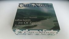 Call  Of Nature Warmth,Spring,Leaves,Sundown 4 CD Set