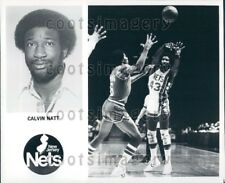1979 Wire Photo Calvin Natt New Jersey Nets