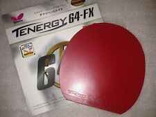 Butterfly Tenergy 64FX RED 2.1mm Ping Pong Table Tennis Rubber  jp22