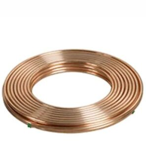 """refrigeration and air conditioning. HETCOOL  COPPER PIPES TUBE  COILS 3/8"""" x 30M"""