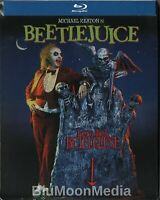 Beetlejuice (Blu-ray Disc, SteelBook) New Factory Sealed Limited Edition