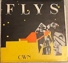 THE FLYS - OWN (RARE UK ALBUM WHITE LABEL PRESSING)