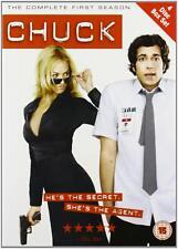 Chuck Complete Series 1 DVD All Episode First Season Original UK Release NEW R2
