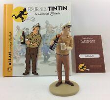 Collection officielle figurine Tintin Moulinsart 21 Allan provoque Haddock